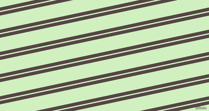 12 degree angle dual striped line, 11 pixel line width, 4 and 45 pixel line spacing, Woody Brown and Tea Green dual two line striped seamless tileable
