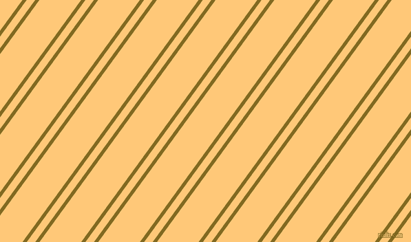 54 degree angle dual stripe line, 5 pixel line width, 10 and 49 pixel line spacing, Yukon Gold and Chardonnay dual two line striped seamless tileable