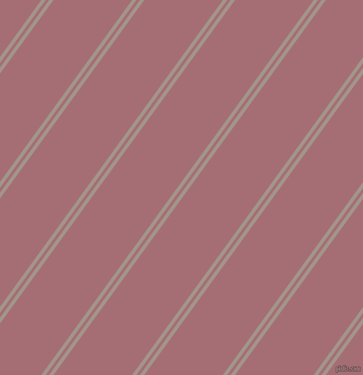 54 degree angle dual striped line, 5 pixel line width, 4 and 91 pixel line spacing, Zorba and Turkish Rose dual two line striped seamless tileable