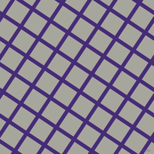 56/146 degree angle diagonal checkered chequered lines, 16 pixel lines width, 74 pixel square size, plaid checkered seamless tileable