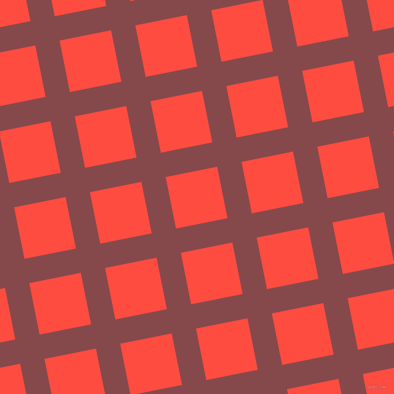 11/101 degree angle diagonal checkered chequered lines, 49 pixel line width, 104 pixel square size, plaid checkered seamless tileable