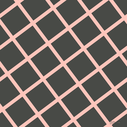 37/127 degree angle diagonal checkered chequered lines, 12 pixel lines width, 74 pixel square size, plaid checkered seamless tileable