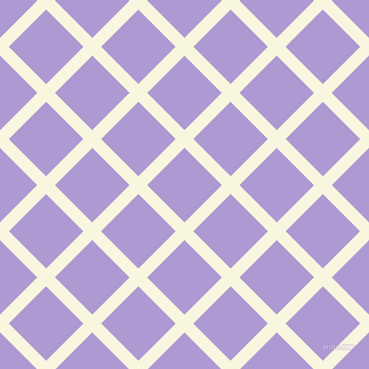45/135 degree angle diagonal checkered chequered lines, 14 pixel lines width, 59 pixel square size, plaid checkered seamless tileable