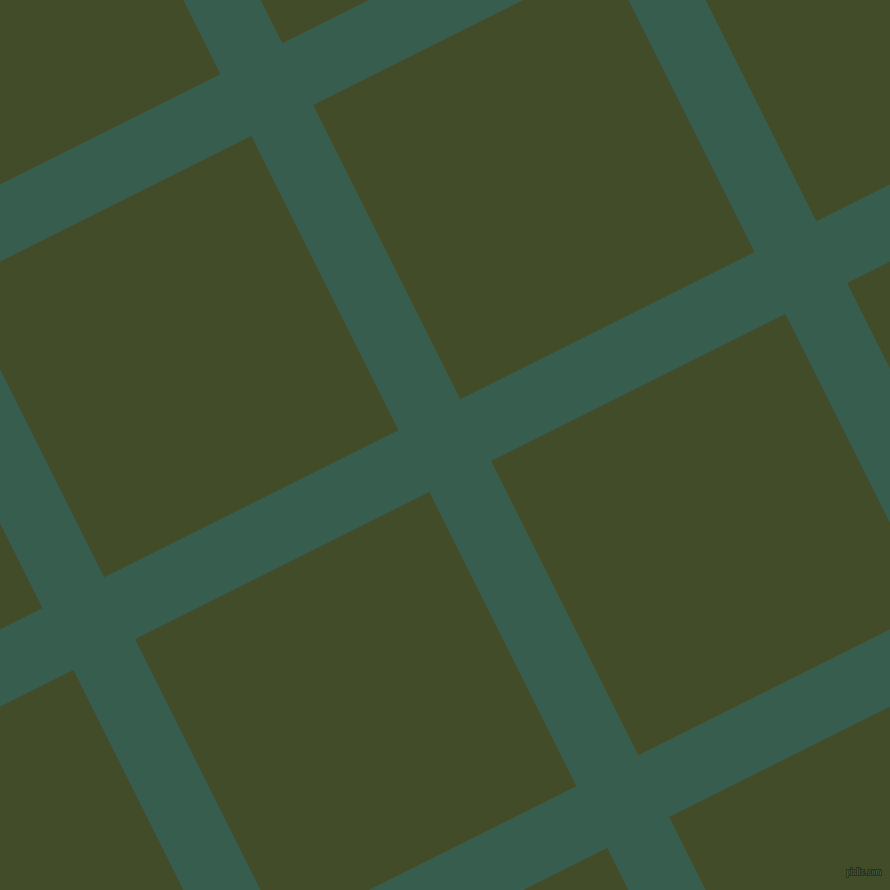 27/117 degree angle diagonal checkered chequered lines, 69 pixel lines width, 329 pixel square size, plaid checkered seamless tileable