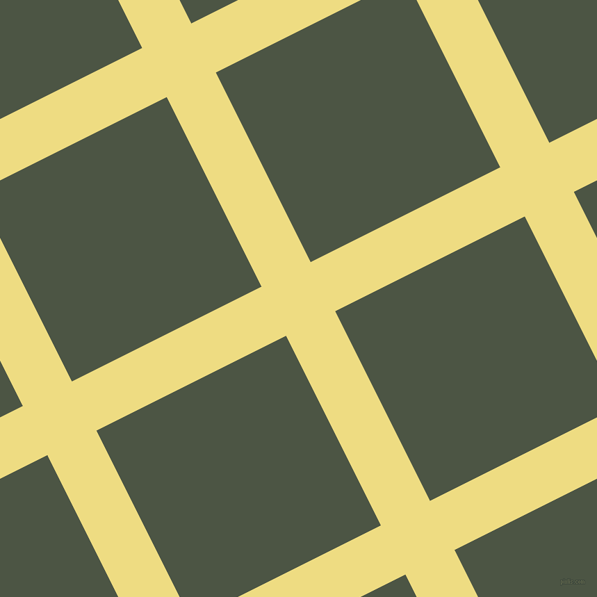27/117 degree angle diagonal checkered chequered lines, 79 pixel line width, 305 pixel square size, plaid checkered seamless tileable