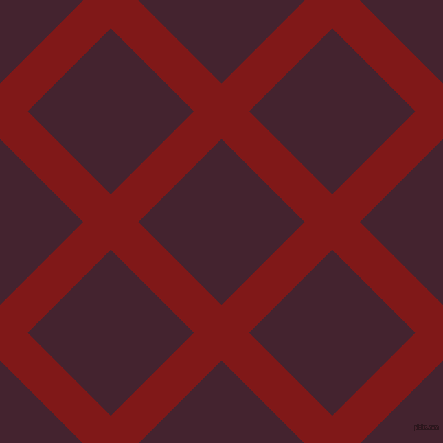 45/135 degree angle diagonal checkered chequered lines, 57 pixel lines width, 171 pixel square size, plaid checkered seamless tileable