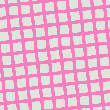 6/96 degree angle diagonal checkered chequered lines, 13 pixel lines width, 34 pixel square size, plaid checkered seamless tileable
