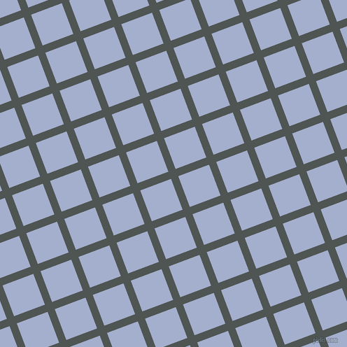 21/111 degree angle diagonal checkered chequered lines, 11 pixel lines width, 47 pixel square size, plaid checkered seamless tileable