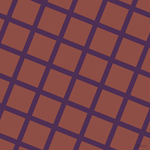 68/158 degree angle diagonal checkered chequered lines, 16 pixel line width, 73 pixel square size, plaid checkered seamless tileable