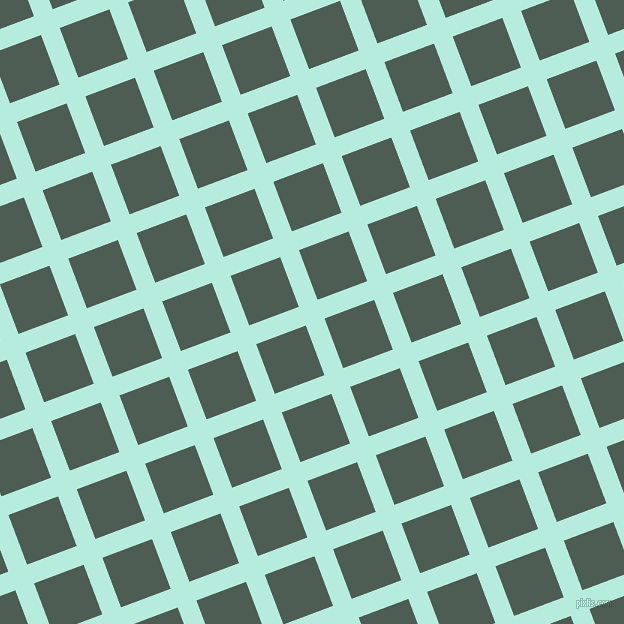21/111 degree angle diagonal checkered chequered lines, 20 pixel line width, 53 pixel square size, plaid checkered seamless tileable