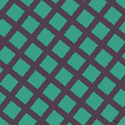 51/141 degree angle diagonal checkered chequered lines, 19 pixel line width, 44 pixel square size, plaid checkered seamless tileable