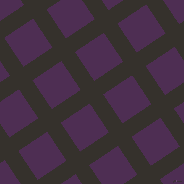 34/124 degree angle diagonal checkered chequered lines, 63 pixel line width, 135 pixel square size, plaid checkered seamless tileable