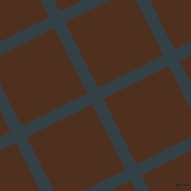 27/117 degree angle diagonal checkered chequered lines, 39 pixel lines width, 233 pixel square size, plaid checkered seamless tileable