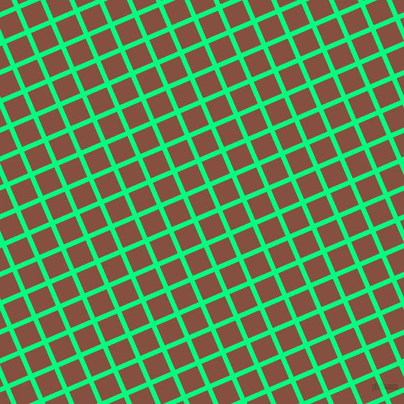 23/113 degree angle diagonal checkered chequered lines, 7 pixel lines width, 31 pixel square size, plaid checkered seamless tileable