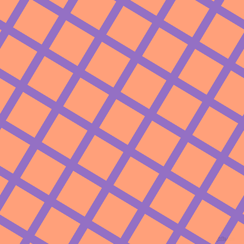 59/149 degree angle diagonal checkered chequered lines, 17 pixel line width, 68 pixel square size, plaid checkered seamless tileable