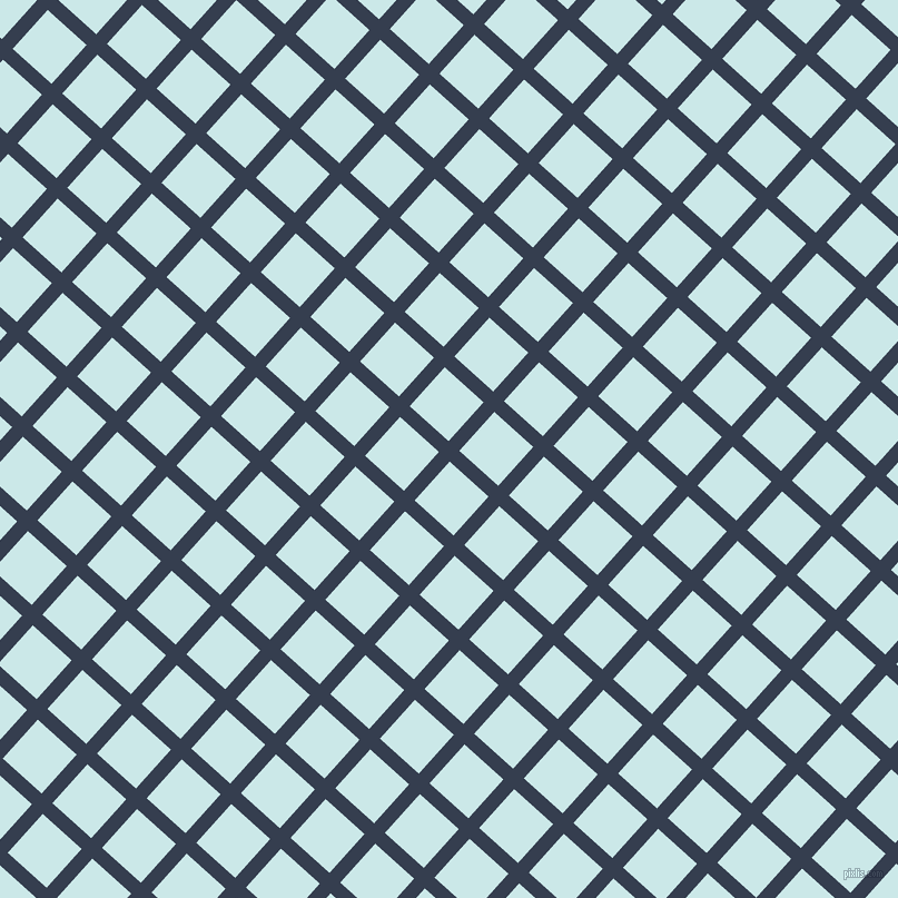 48/138 degree angle diagonal checkered chequered lines, 13 pixel lines width, 47 pixel square size, plaid checkered seamless tileable