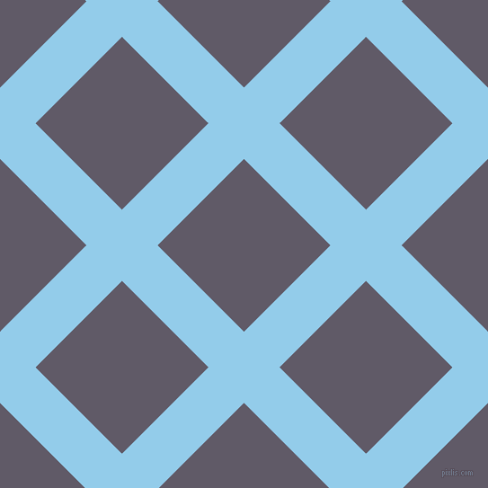 45/135 degree angle diagonal checkered chequered lines, 56 pixel line width, 136 pixel square size, plaid checkered seamless tileable