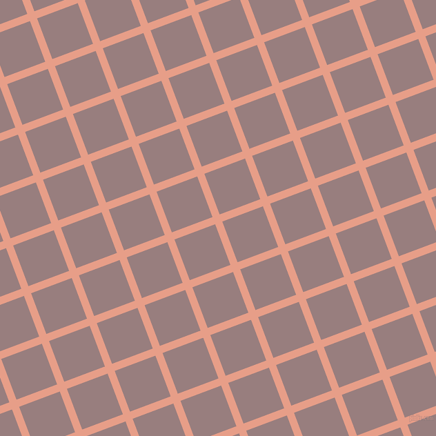 21/111 degree angle diagonal checkered chequered lines, 11 pixel line width, 63 pixel square size, plaid checkered seamless tileable