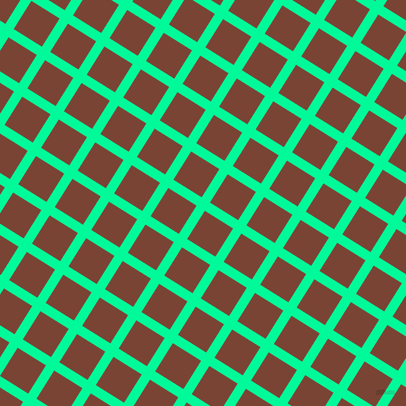 58/148 degree angle diagonal checkered chequered lines, 19 pixel lines width, 65 pixel square size, plaid checkered seamless tileable