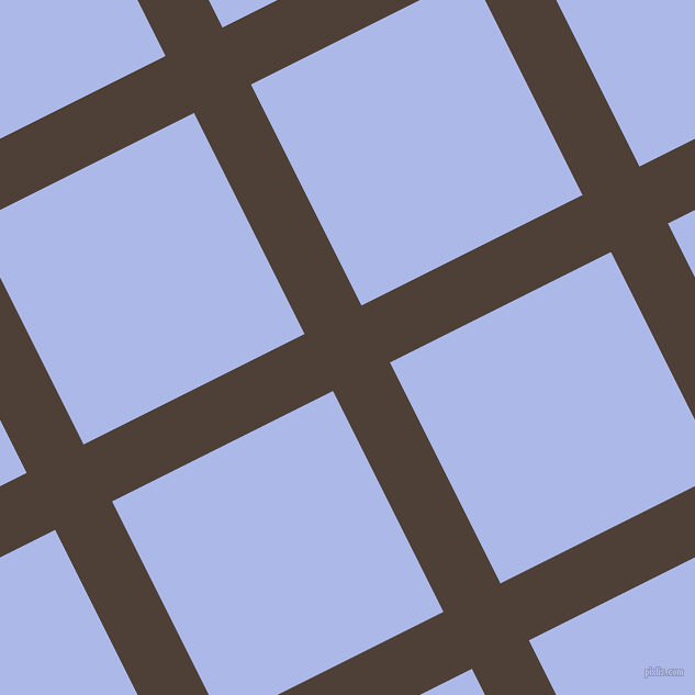 27/117 degree angle diagonal checkered chequered lines, 58 pixel lines width, 225 pixel square size, plaid checkered seamless tileable