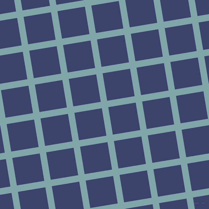 9/99 degree angle diagonal checkered chequered lines, 22 pixel line width, 94 pixel square size, plaid checkered seamless tileable