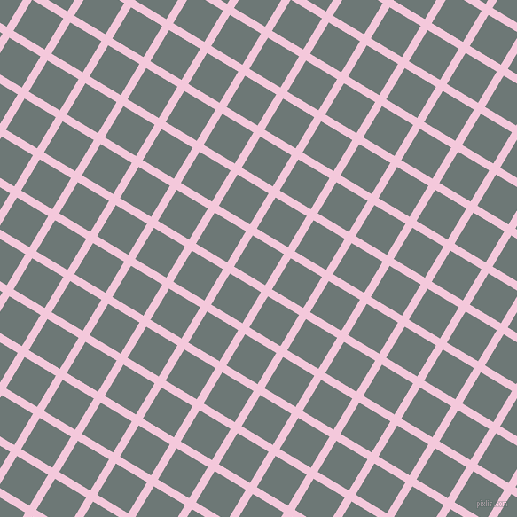 59/149 degree angle diagonal checkered chequered lines, 9 pixel lines width, 41 pixel square size, plaid checkered seamless tileable