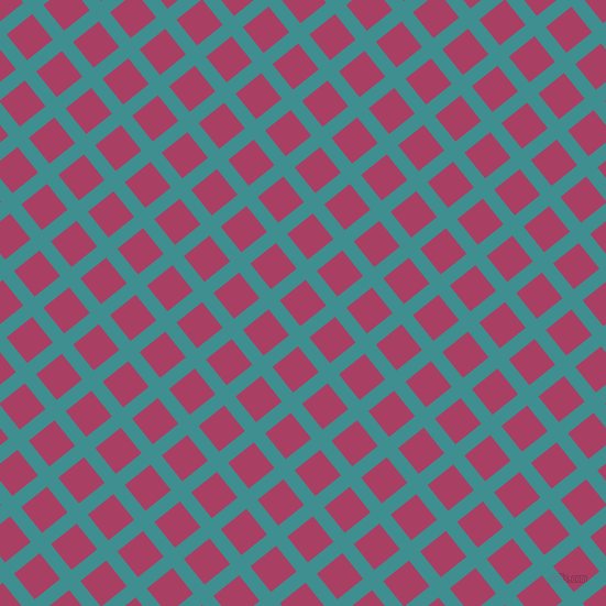 39/129 degree angle diagonal checkered chequered lines, 13 pixel line width, 30 pixel square size, plaid checkered seamless tileable