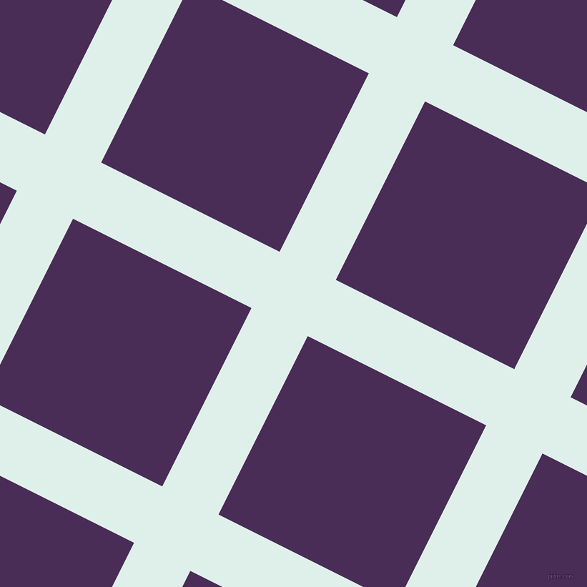 63/153 degree angle diagonal checkered chequered lines, 88 pixel line width, 279 pixel square size, plaid checkered seamless tileable