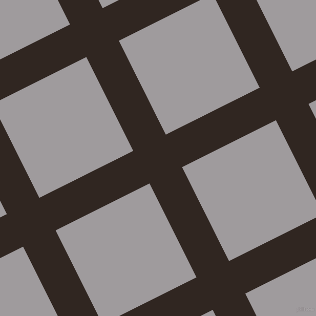 27/117 degree angle diagonal checkered chequered lines, 71 pixel lines width, 205 pixel square size, plaid checkered seamless tileable