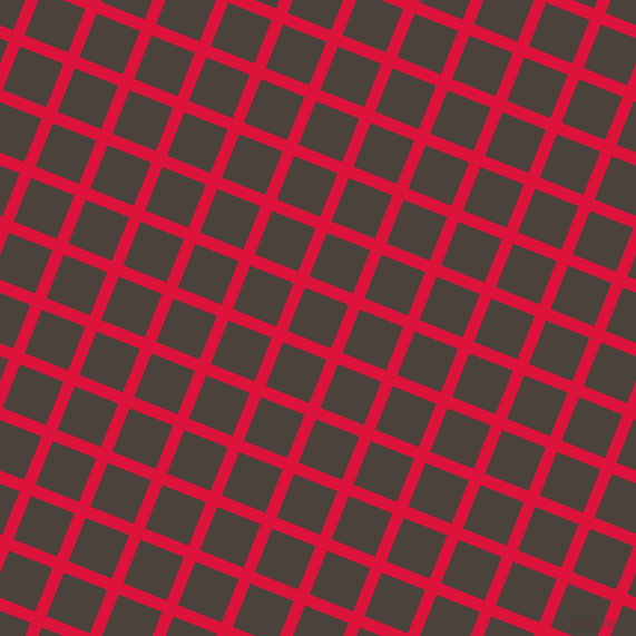 68/158 degree angle diagonal checkered chequered lines, 11 pixel line width, 42 pixel square size, plaid checkered seamless tileable