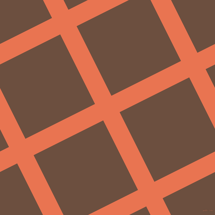 27/117 degree angle diagonal checkered chequered lines, 64 pixel lines width, 271 pixel square size, plaid checkered seamless tileable