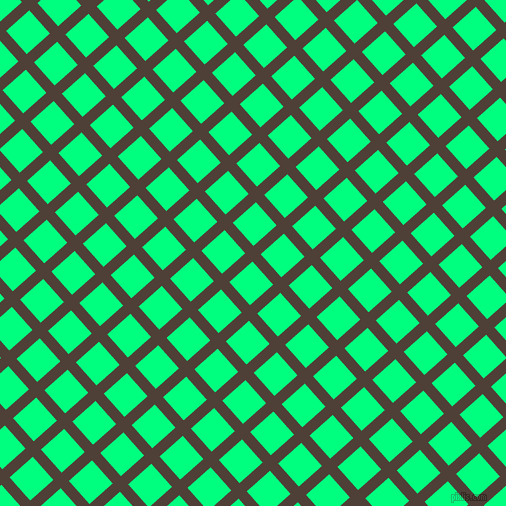 42/132 degree angle diagonal checkered chequered lines, 11 pixel line width, 31 pixel square size, plaid checkered seamless tileable