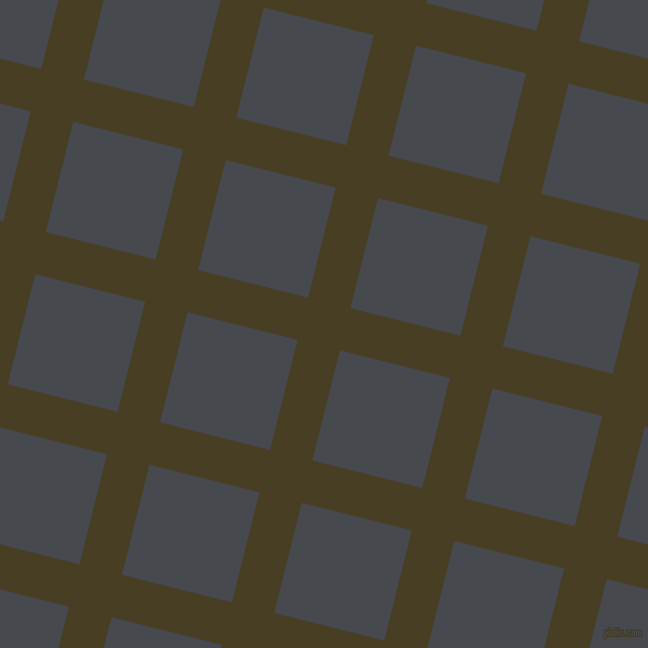 76/166 degree angle diagonal checkered chequered lines, 40 pixel lines width, 104 pixel square size, plaid checkered seamless tileable