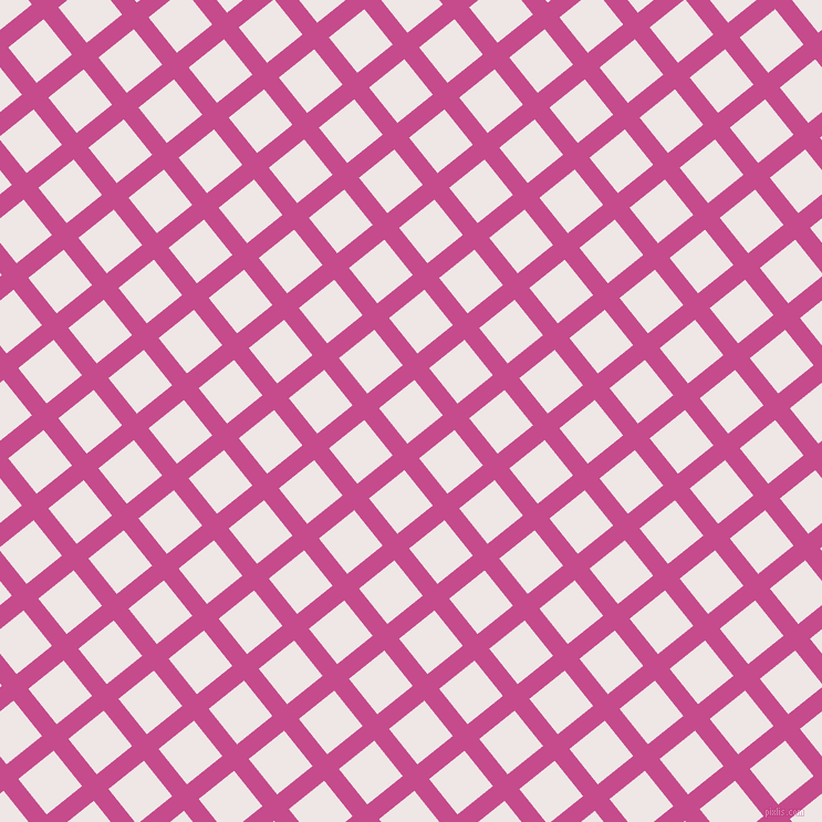 39/129 degree angle diagonal checkered chequered lines, 17 pixel line width, 41 pixel square size, plaid checkered seamless tileable