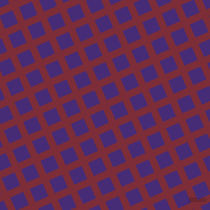 24/114 degree angle diagonal checkered chequered lines, 14 pixel lines width, 28 pixel square size, plaid checkered seamless tileable