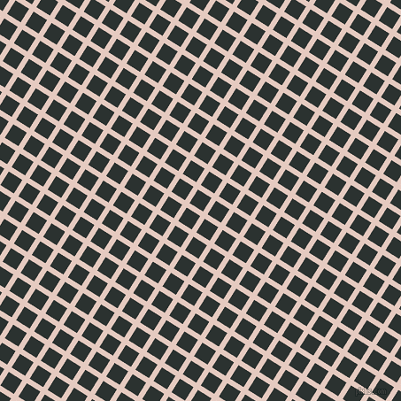 58/148 degree angle diagonal checkered chequered lines, 6 pixel lines width, 18 pixel square size, plaid checkered seamless tileable