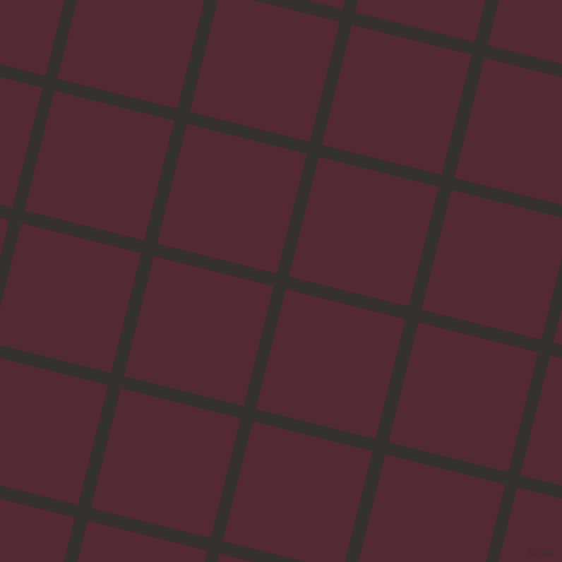 76/166 degree angle diagonal checkered chequered lines, 18 pixel lines width, 175 pixel square size, Acadia and Black Rose plaid checkered seamless tileable