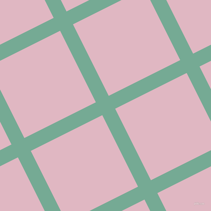 27/117 degree angle diagonal checkered chequered lines, 49 pixel lines width, 272 pixel square size, Acapulco and Melanie plaid checkered seamless tileable