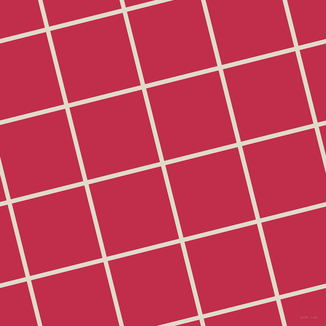 14/104 degree angle diagonal checkered chequered lines, 9 pixel lines width, 154 pixel square size, Albescent White and Old Rose plaid checkered seamless tileable
