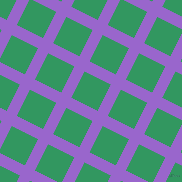 63/153 degree angle diagonal checkered chequered lines, 38 pixel line width, 99 pixel square size, Amethyst and Eucalyptus plaid checkered seamless tileable