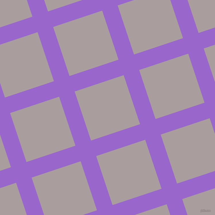 18/108 degree angle diagonal checkered chequered lines, 57 pixel lines width, 180 pixel square size, Amethyst and Nobel plaid checkered seamless tileable