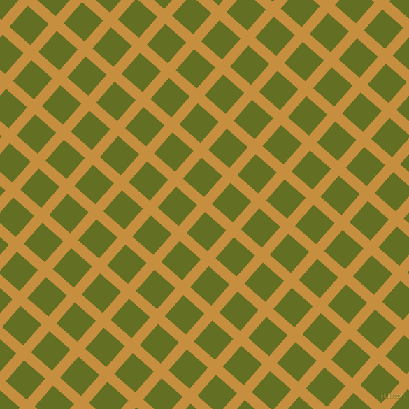 49/139 degree angle diagonal checkered chequered lines, 15 pixel line width, 40 pixel square size, Anzac and Fiji Green plaid checkered seamless tileable