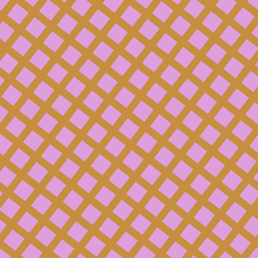 52/142 degree angle diagonal checkered chequered lines, 24 pixel line width, 50 pixel square size, Anzac and Plum plaid checkered seamless tileable