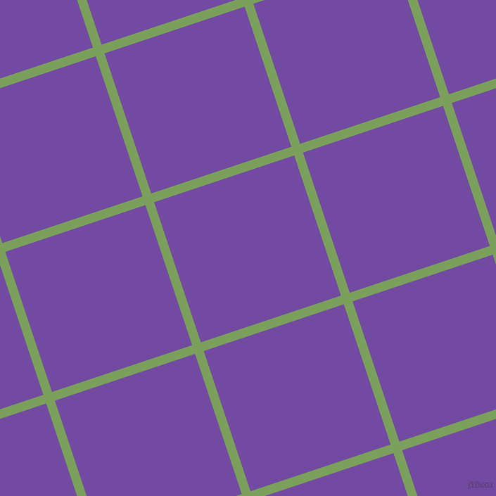18/108 degree angle diagonal checkered chequered lines, 13 pixel lines width, 210 pixel square size, Asparagus and Studio plaid checkered seamless tileable
