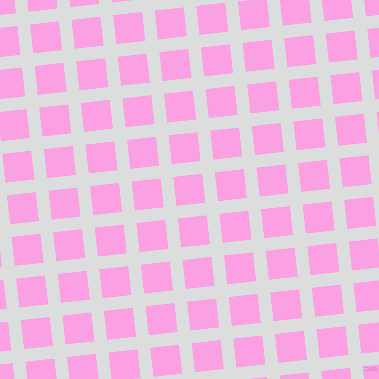 6/96 degree angle diagonal checkered chequered lines, 26 pixel line width, 59 pixel square size, Athens Grey and Lavender Rose plaid checkered seamless tileable