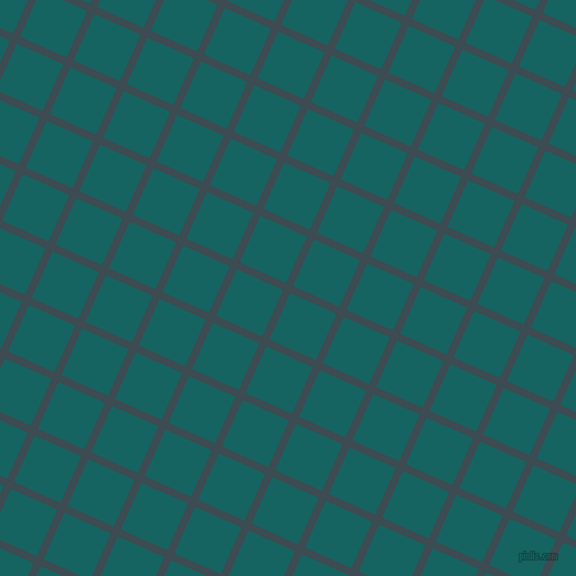 66/156 degree angle diagonal checkered chequered lines, 7 pixel lines width, 46 pixel square size, Atomic and Blue Stone plaid checkered seamless tileable