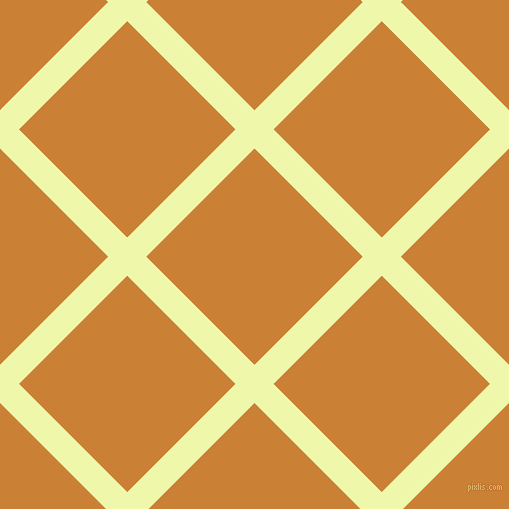 45/135 degree angle diagonal checkered chequered lines, 27 pixel lines width, 153 pixel square size, Australian Mint and Golden Bell plaid checkered seamless tileable
