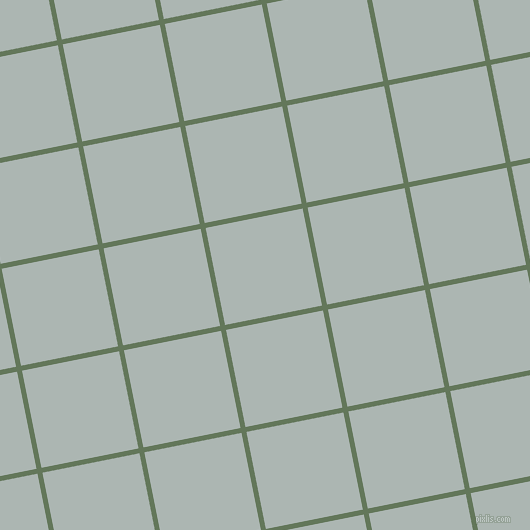 11/101 degree angle diagonal checkered chequered lines, 5 pixel lines width, 99 pixel square size, Axolotl and Periglacial Blue plaid checkered seamless tileable