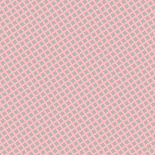 34/124 degree angle diagonal checkered chequered lines, 6 pixel line width, 12 pixel square size, Azalea and Pink Swan plaid checkered seamless tileable