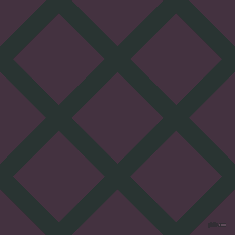 45/135 degree angle diagonal checkered chequered lines, 36 pixel lines width, 129 pixel square size, Aztec and Voodoo plaid checkered seamless tileable